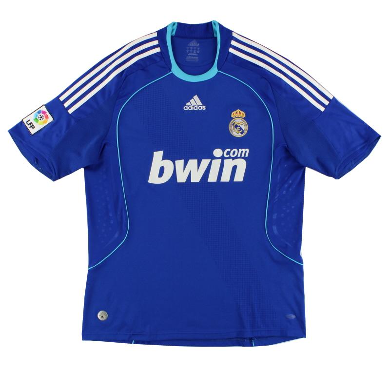 2008-09 Real Madrid adidas Away Shirt S - 698110