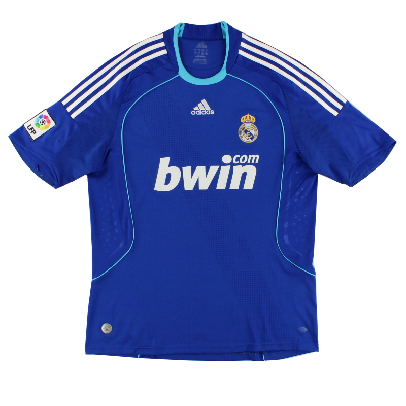 2008-09 Real Madrid Away Shirt L - 698110