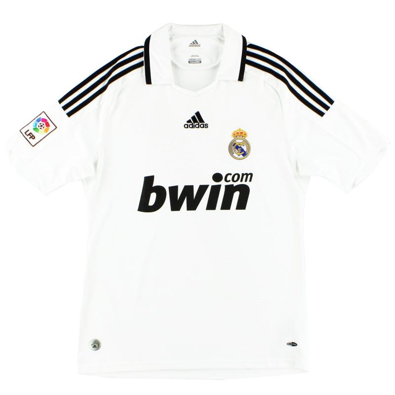 2008-09 Real Madrid adidas Home Shirt XL - 315118