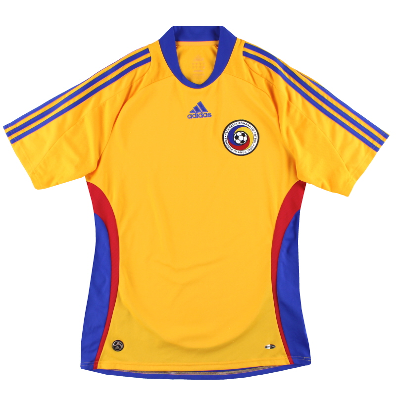 2008-09 Romania adidas Home Shirt M - 609859