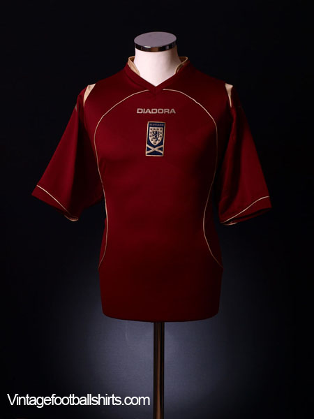 2008-09 Scotland Third Shirt L