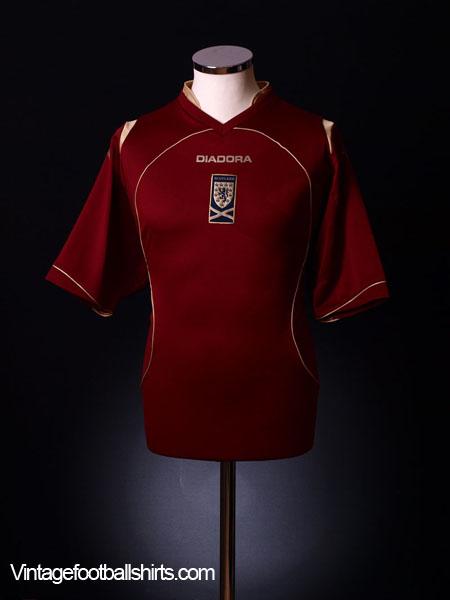 2008-09 Scotland Third Shirt S
