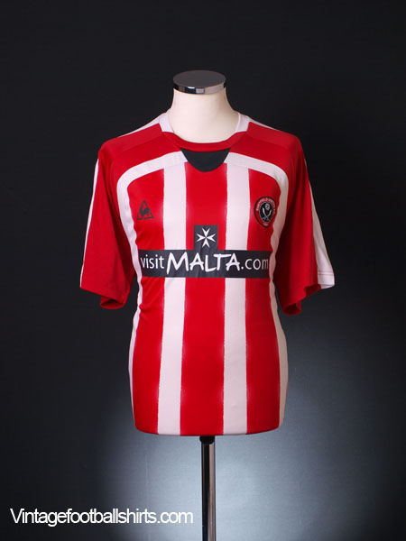2008-09 Sheffield United Home Shirt L