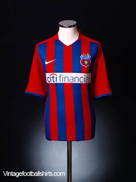 2008-09 Steaua Bucuresti Home Shirt *As New* XL