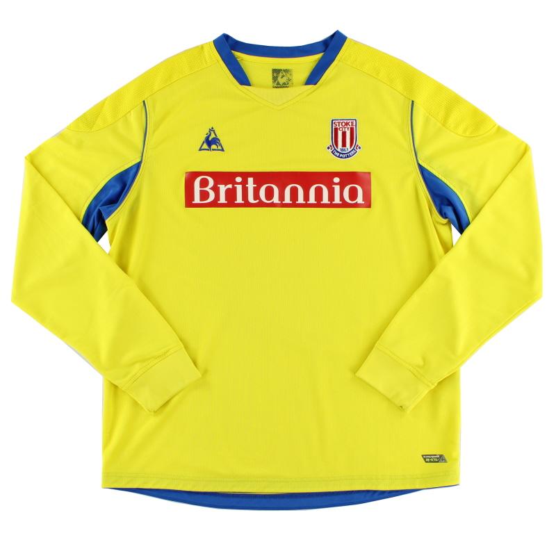 2008-09 Stoke City Away Shirt L/S XL