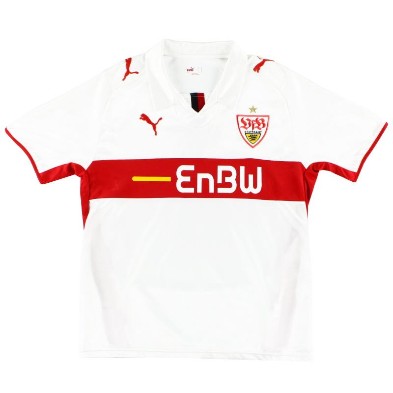 2008-09 Stuttgart Puma Home Shirt S - 734238