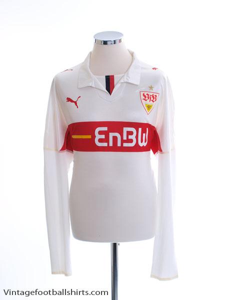 2008-09 Stuttgart Player Issue Home Shirt L/S *Mint* XL
