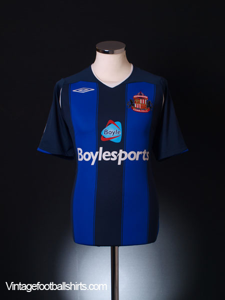 2008-09 Sunderland Away Shirt L