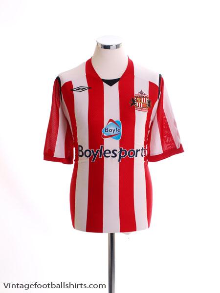 2008-09 Sunderland Home Shirt XL