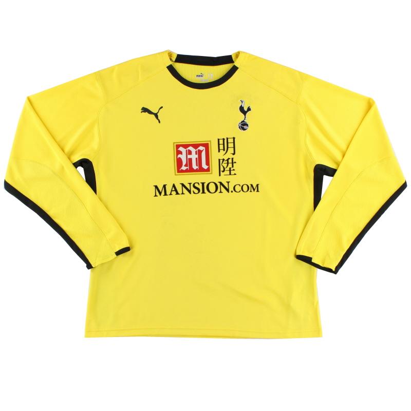 2008-09 Tottenham Goalkeeper Shirt L/S XXL