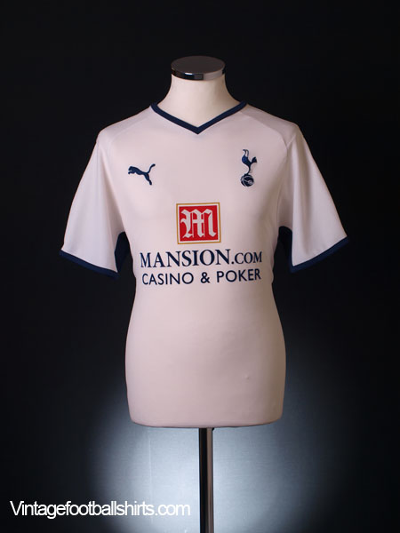 2008-09 Tottenham Home Shirt S