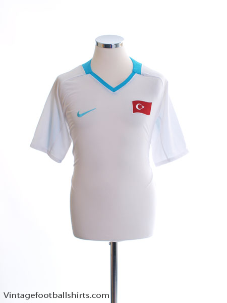 2008-09 Turkey Away Shirt L