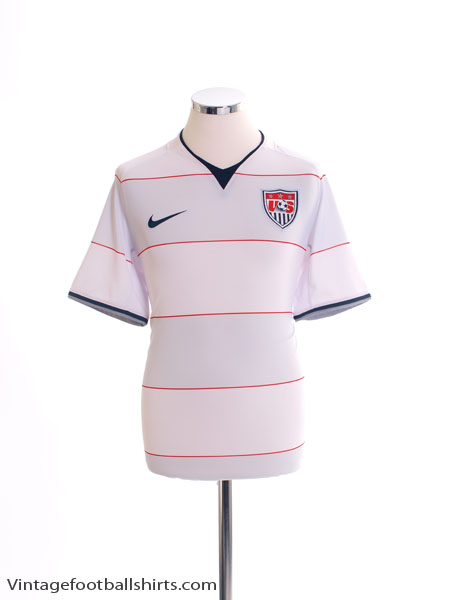 2008-09 USA Home Shirt L