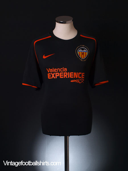 2008-09 Valencia Away Shirt XL.Boys