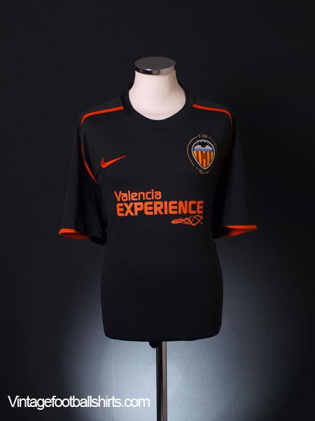 2008-09 Valencia Away Shirt XXL