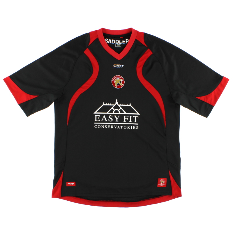 2008-09 Walsall Away Shirt L