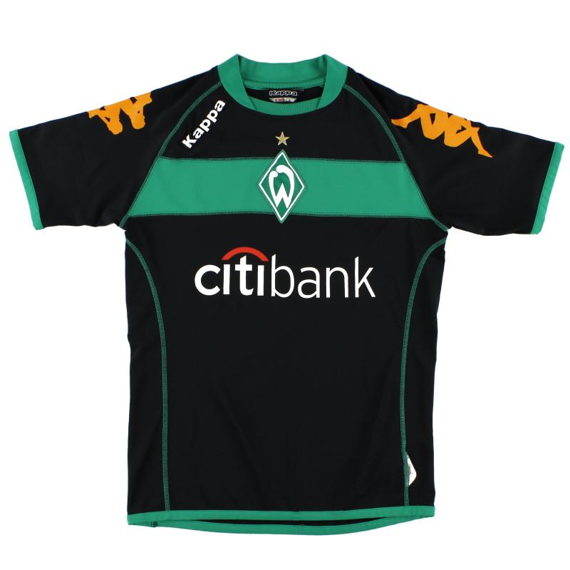 2008-09 Werder Bremen Third Shirt S