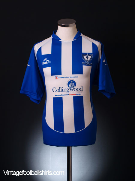 2008-09 Whitley Bay Home Shirt M