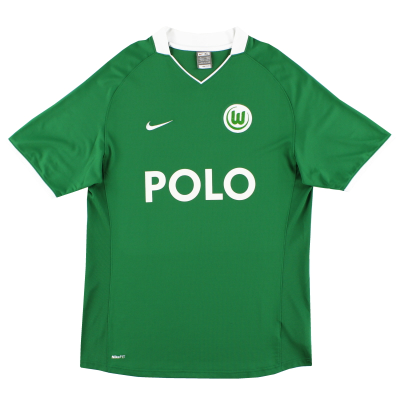 2008-09 Wolfsburg Home Shirt XL