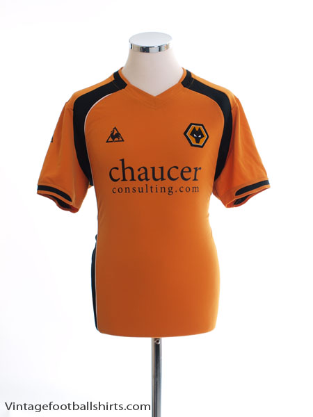 2008-09 Wolves Home Shirt M