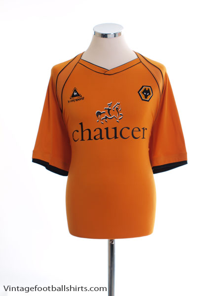 2006-08 Wolves Home Shirt L