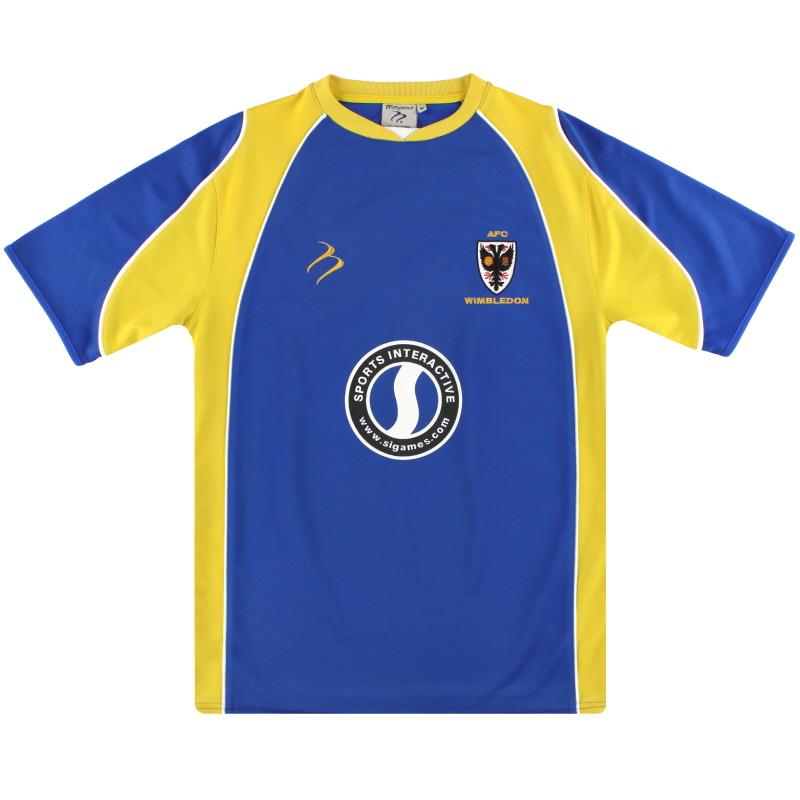 2008-10 AFC Wimbledon Home Shirt M