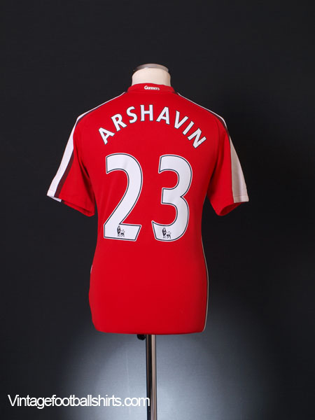 2008-10 Arsenal Home Shirt Arshavin #23 S