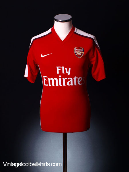 2008-10 Arsenal Home Shirt M