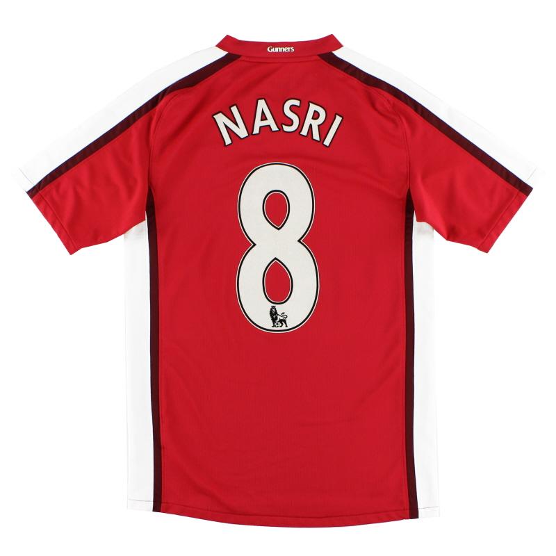 2008-10 Arsenal Home Shirt Nasri #8 S - 287535-614