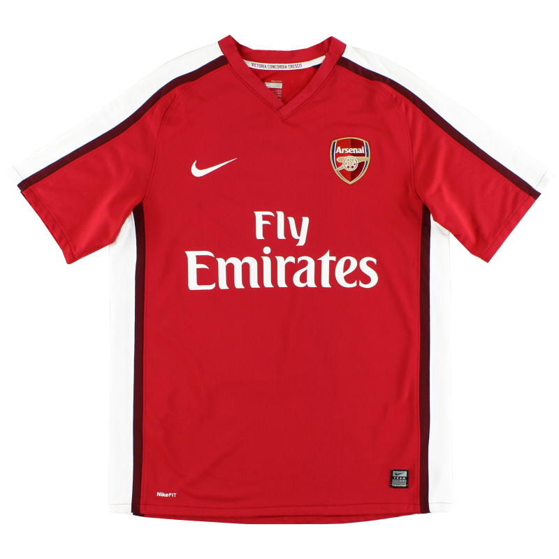 2008-10 Arsenal Home Shirt S.Boys