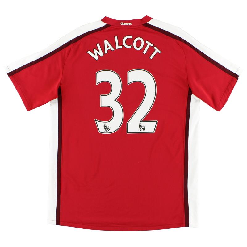 2008-10 Arsenal Home Shirt Walcott #32 L