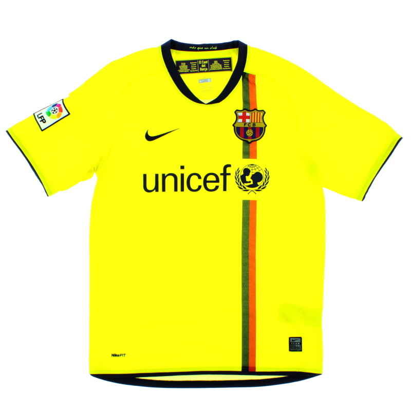 2008-10 Barcelona Away Shirt S