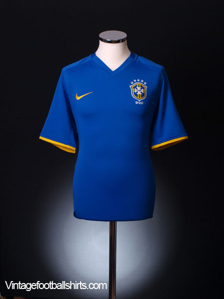 2008-10 Brazil Away Shirt *BNWT* L