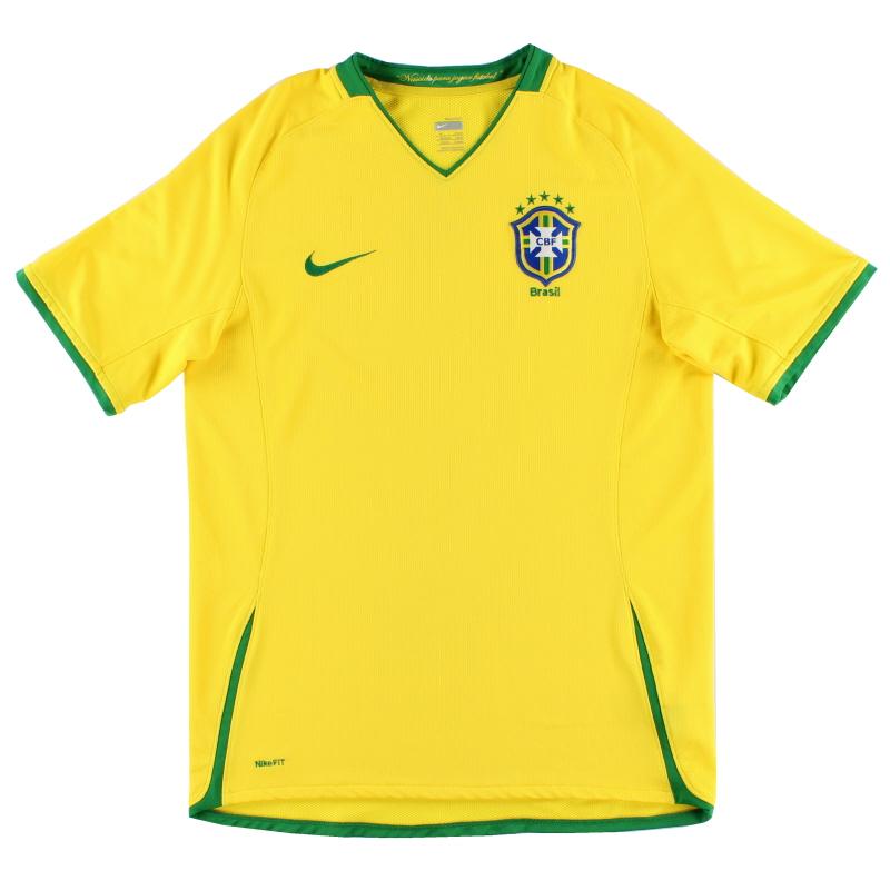 2008-10 Brazil Nike Home Shirt S - 258949-703
