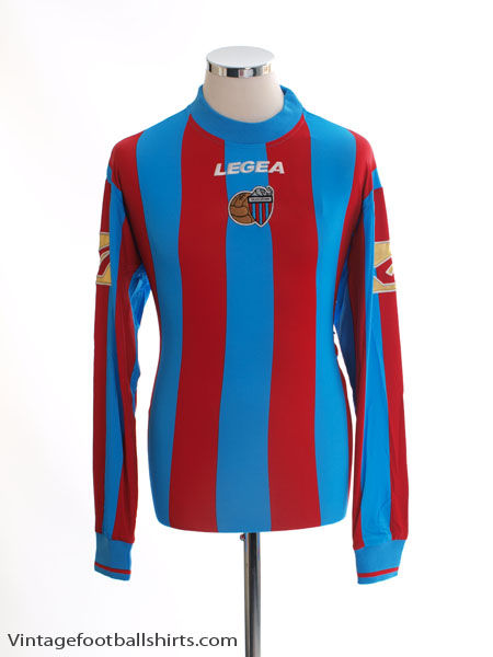 2008-10 Catania Home Shirt L/S *BNIB*