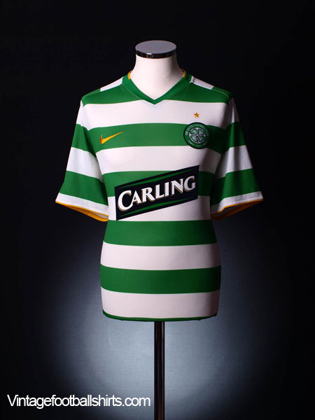 2008-10 Celtic Home Shirt S