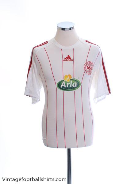 2008-10 Denmark 'Fodboldskole' Away Shirt *Mint* M - 623899