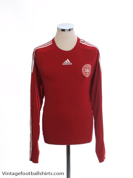 2008-10 Denmark 'Formotion' Home Shirt L/S L - 624020