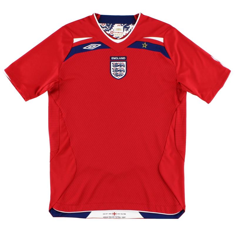 2008-10 England Umbro Away Shirt L
