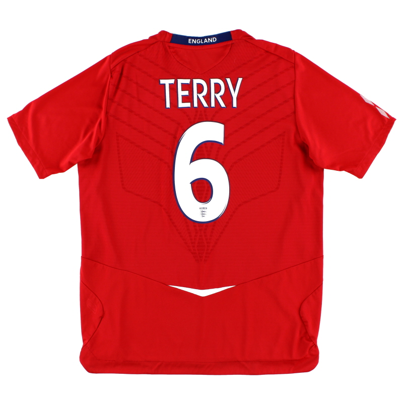 2008-10 England Away Shirt Terry #6 XXL