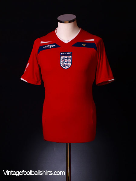 2008-10 England Away Shirt L