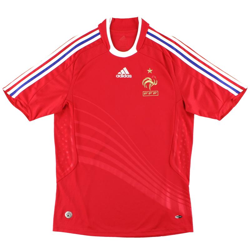 2008-10 France adidas Away Shirt S - 618916