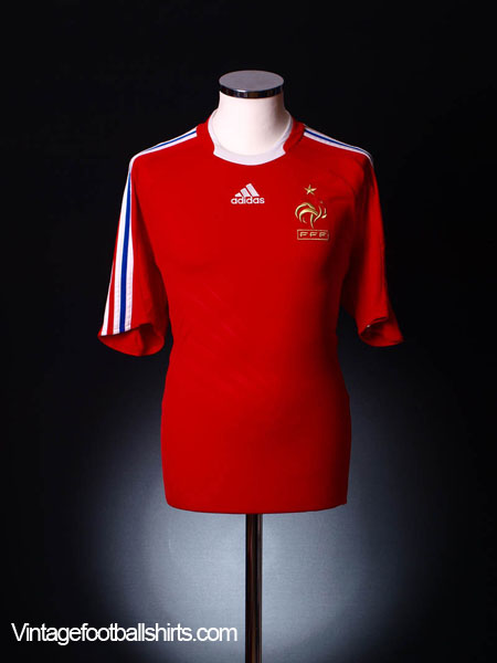 2008-10 France Away Shirt S
