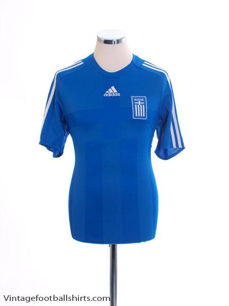 2008-10 Greece Home Shirt *Mint* S
