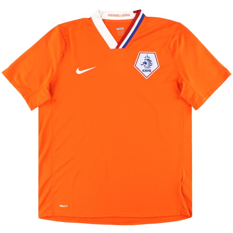 2008-10 Holland Nike Home Shirt M.Boys