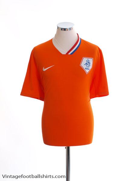 2008-10 Holland Home Shirt M - 265674-815