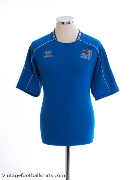 2008-10 Iceland Home Shirt L