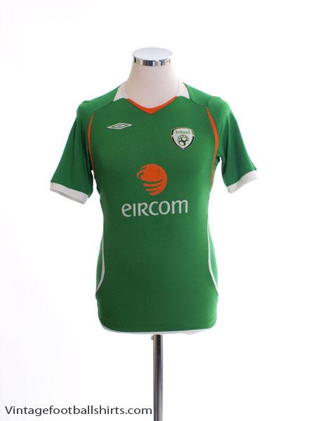 2008-10 Ireland Home Shirt L.Boys