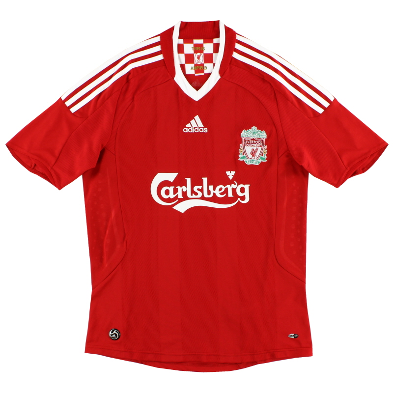 2008-10 Liverpool Home Shirt XXL - 313214