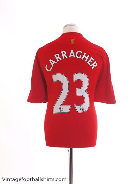 2008-10 Liverpool Home Shirt Carragher #23 L
